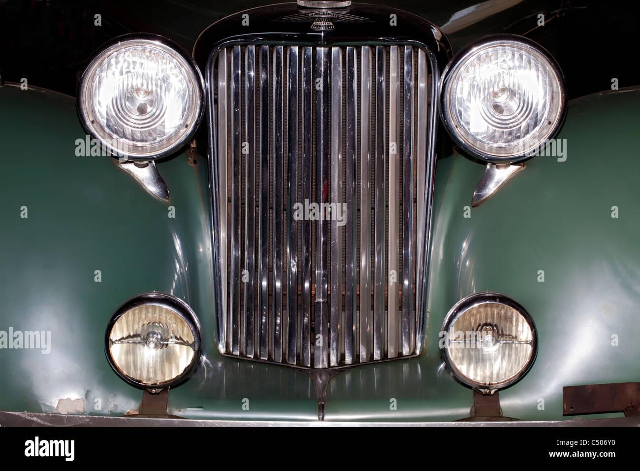 Detail, GB Jaguar MK IV Saloon, 1948 - Stock Image