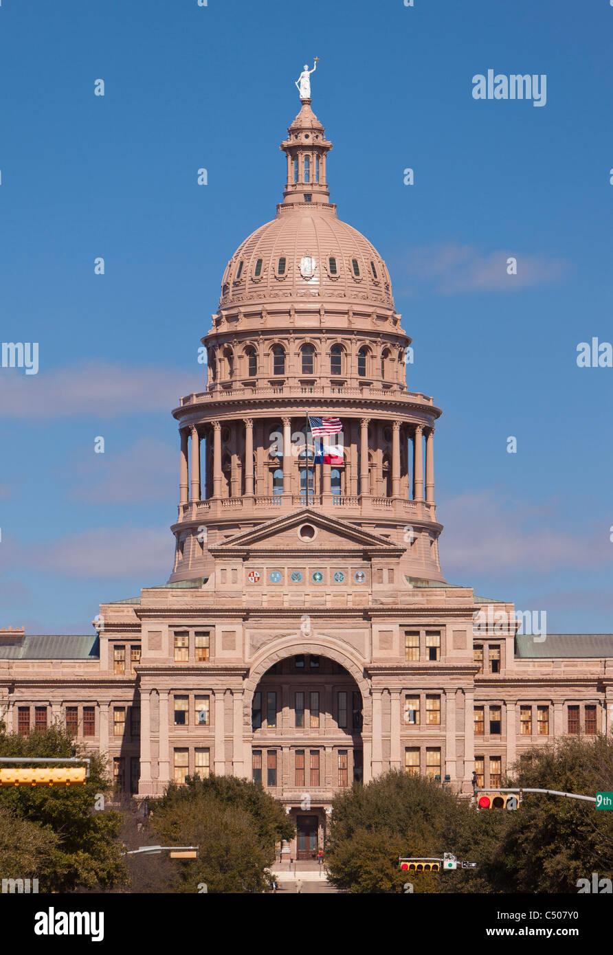 AUSTIN, TEXAS, USA - Texas State Capitol building. Stock Photo