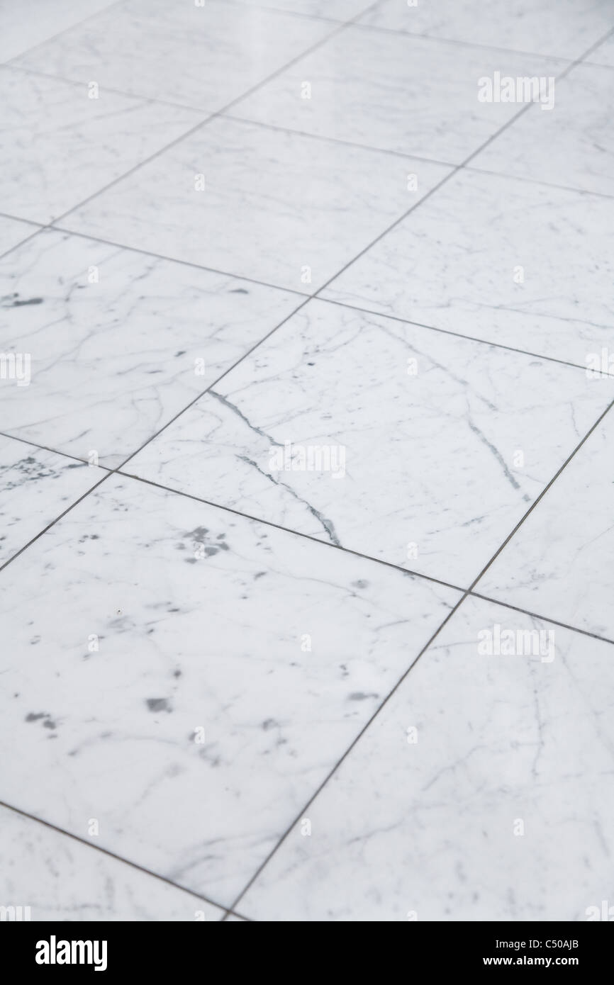 Marble Floor for background use - Stock Image