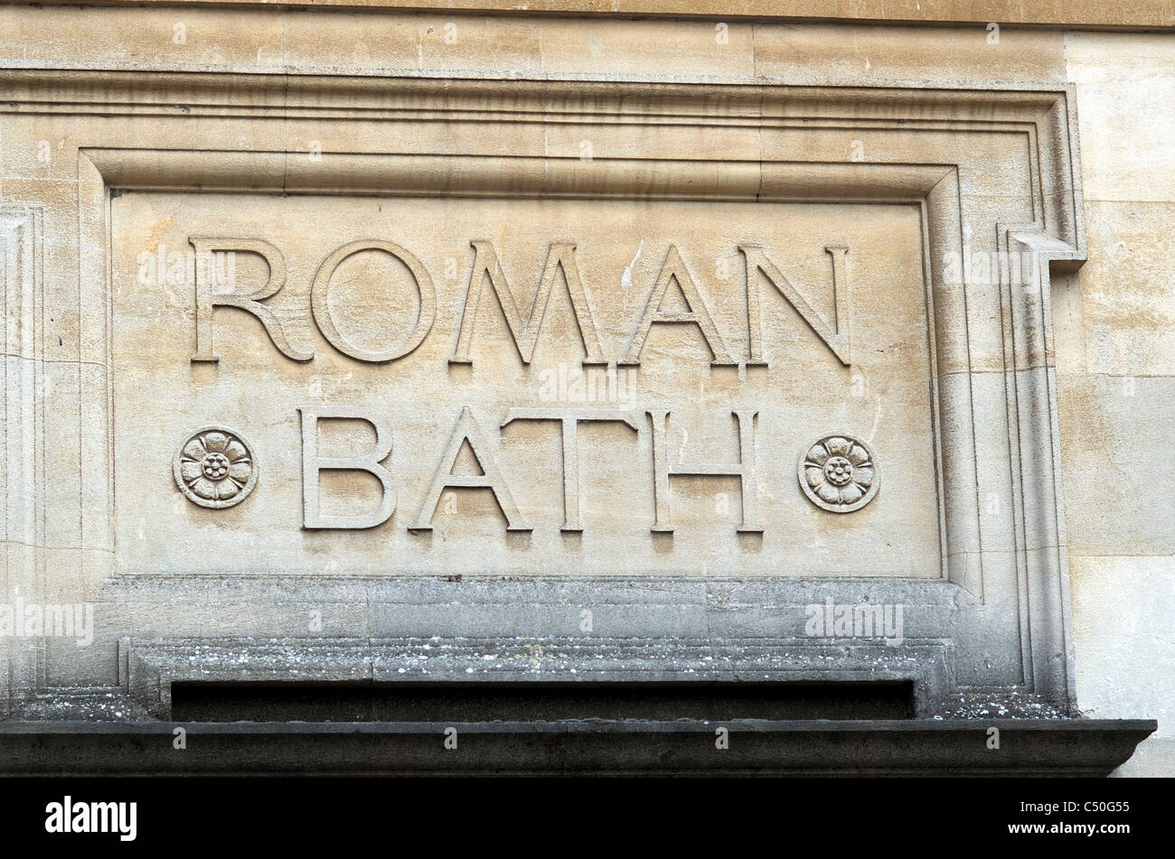 Roman Bath's , Bath, Somerset, England. - Stock Image