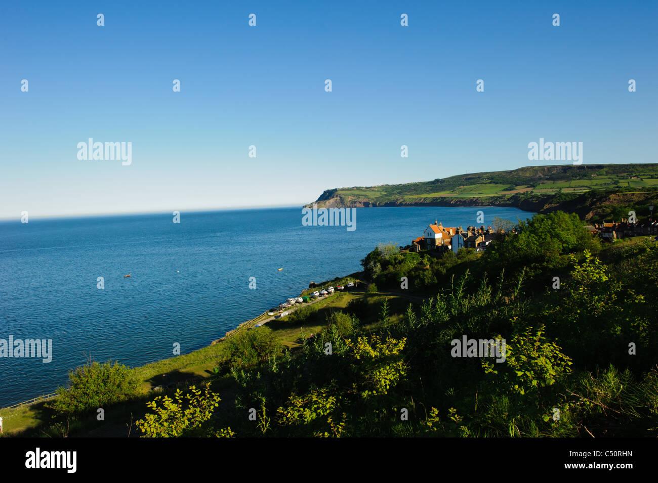Robin Hoods Bay, North Yorkshire - Stock Image