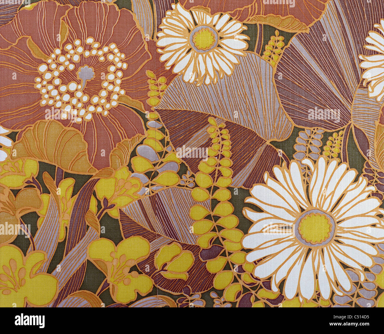 Floral pattern - Stock Image