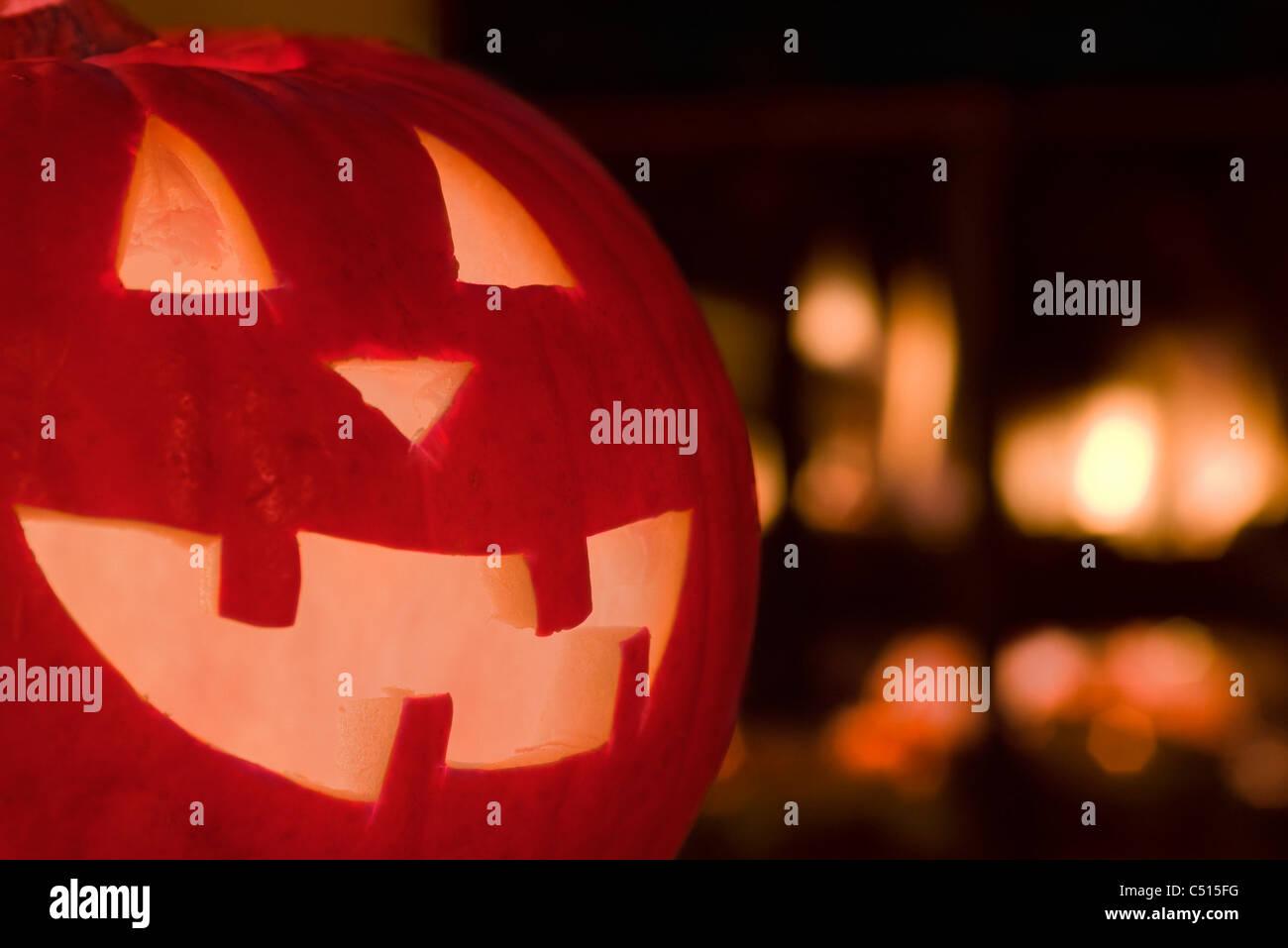 Jack o'lantern - Stock Image