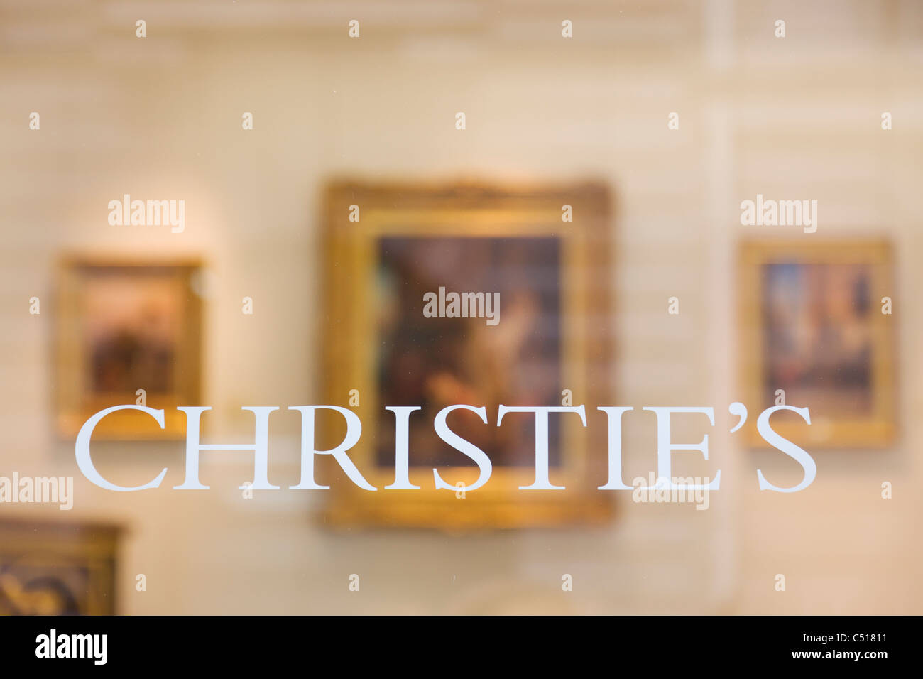 Christie's London - Stock Image