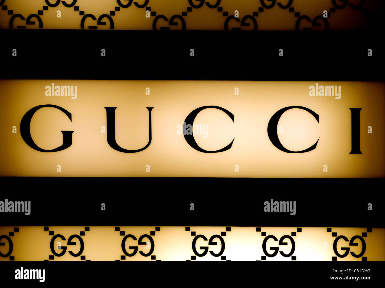 Gucci Logo Stock Photo 37526652 Alamy