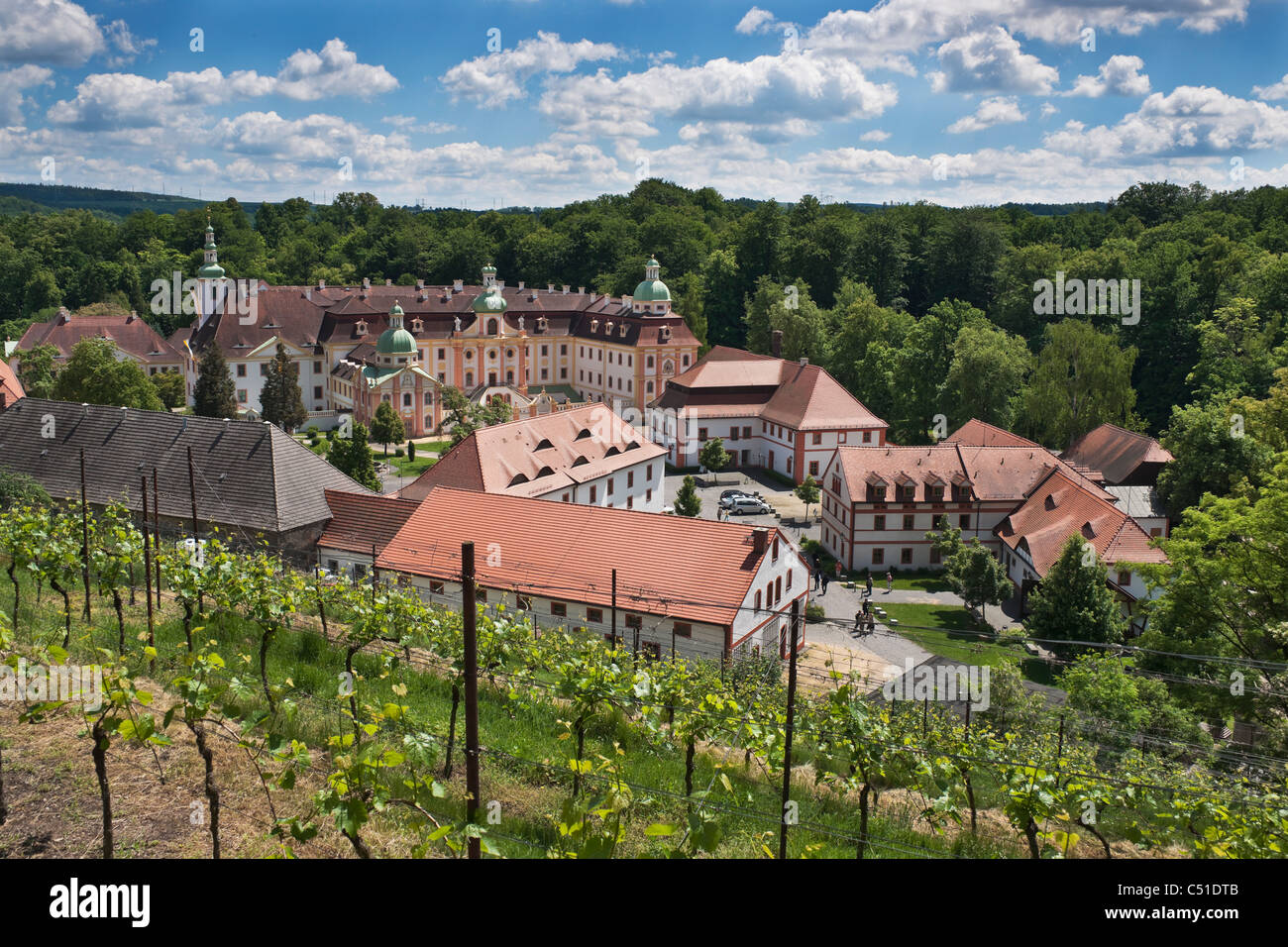 kloster st marienthal ostritz monastery st marienthal ostritz stock photo 37526843 alamy. Black Bedroom Furniture Sets. Home Design Ideas