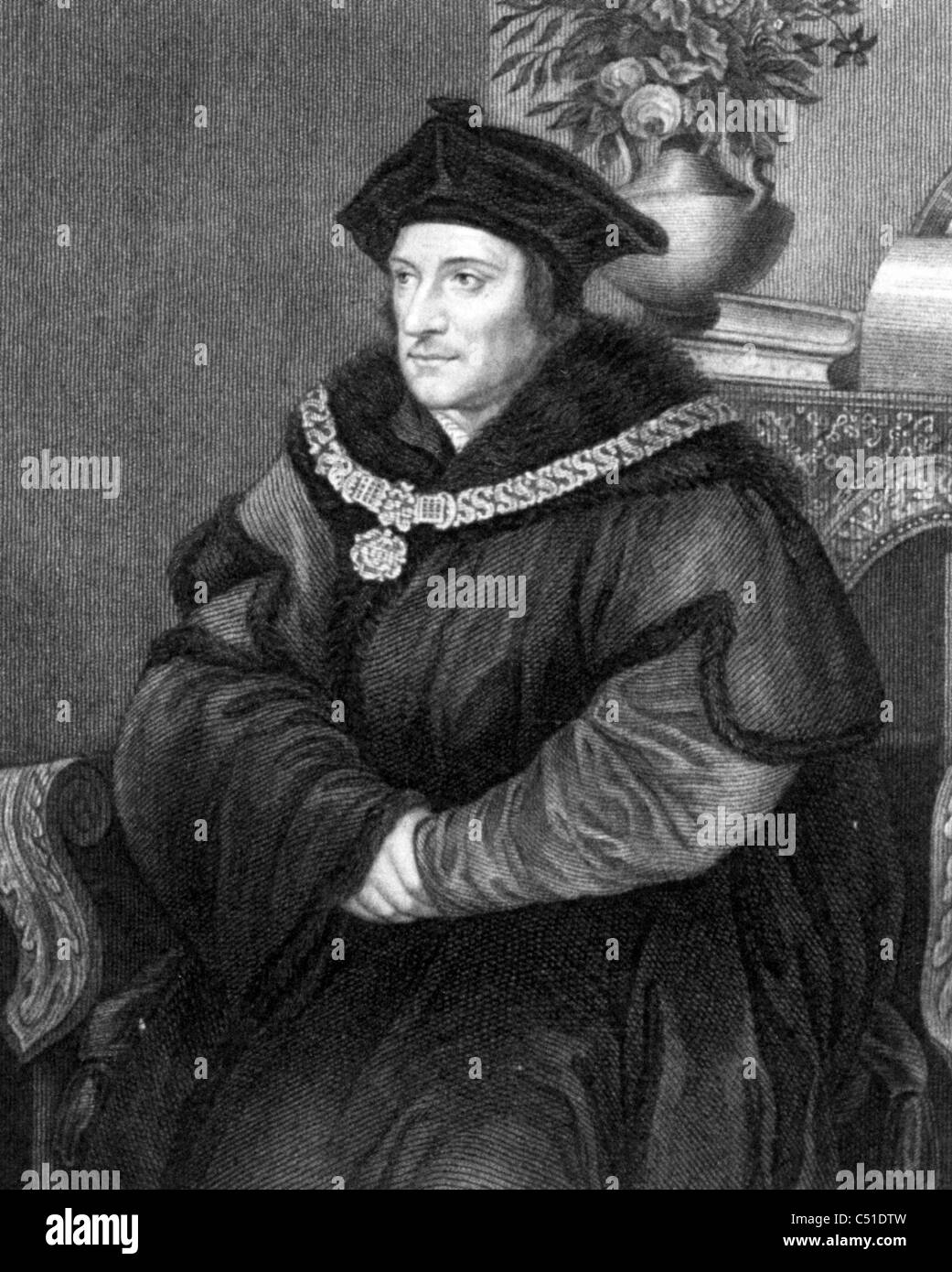 sir thomas more Sir thomas more settled in chelsea in about 1520 and built himself a house  there it stood on the site of the present beaufort street, in spacious, formal  grounds.