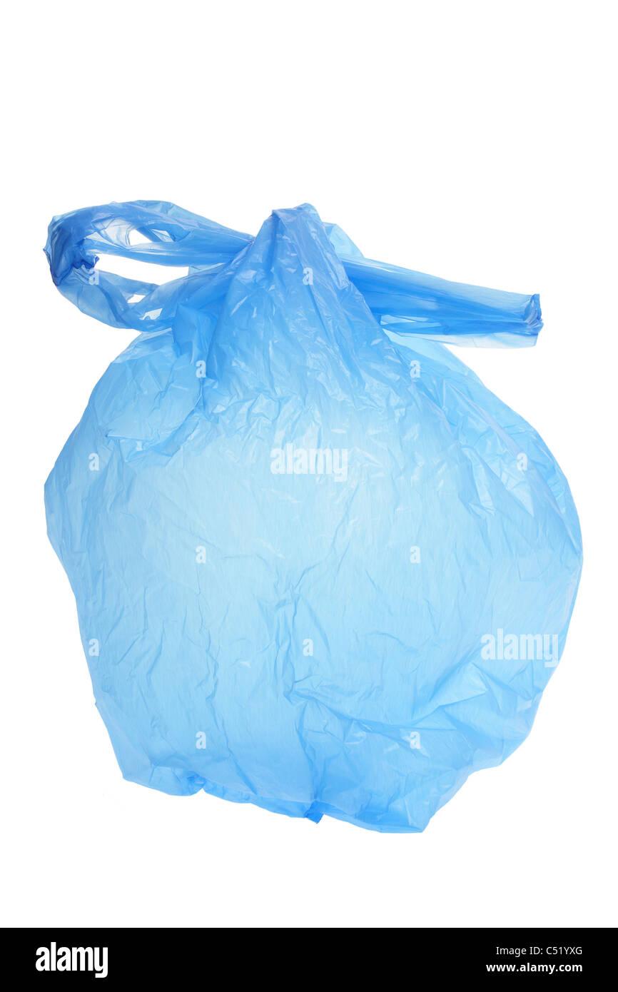 Plastic Shopping Bag Stock Photo
