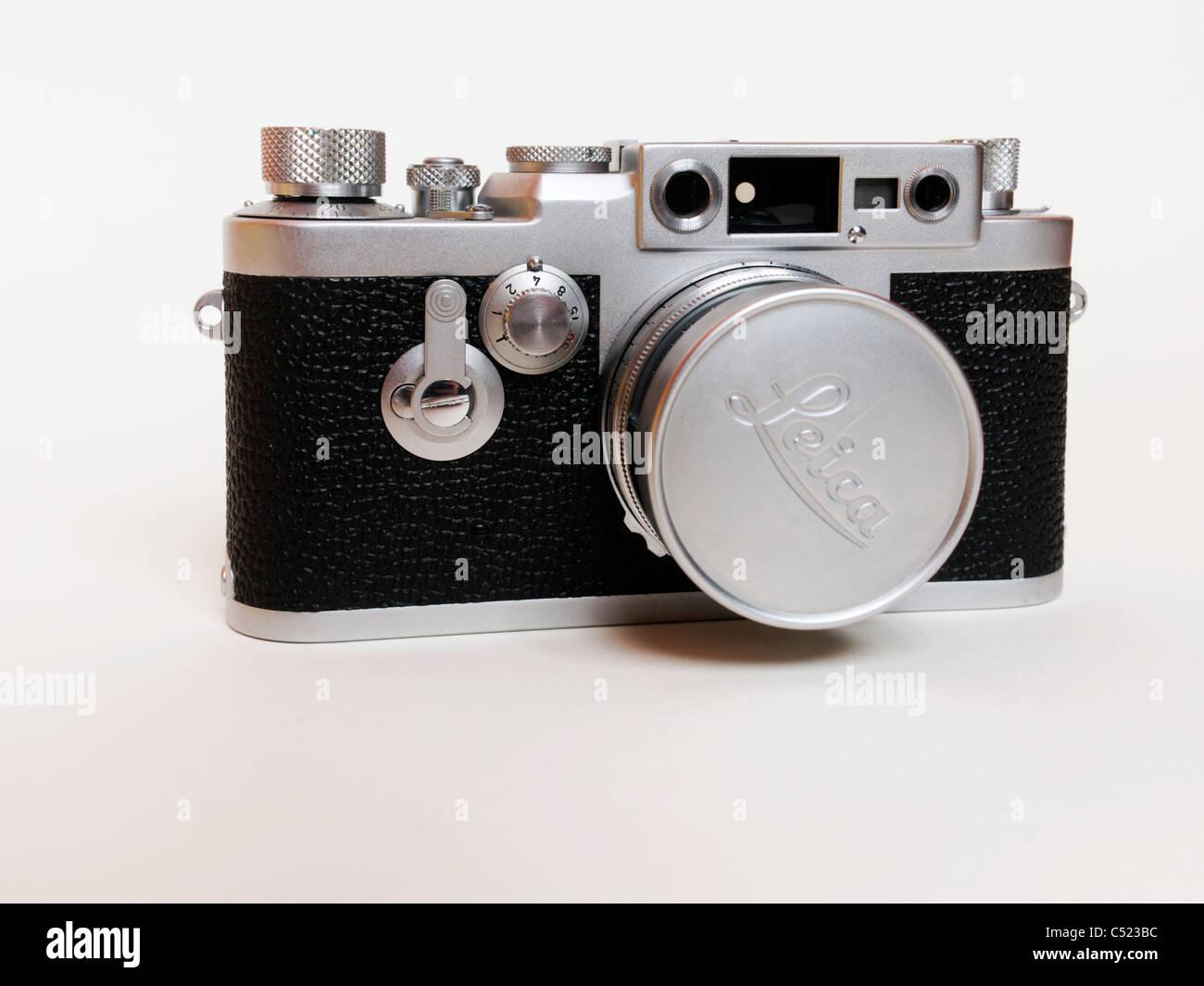 Leica III series rangefinder camera - Stock Image