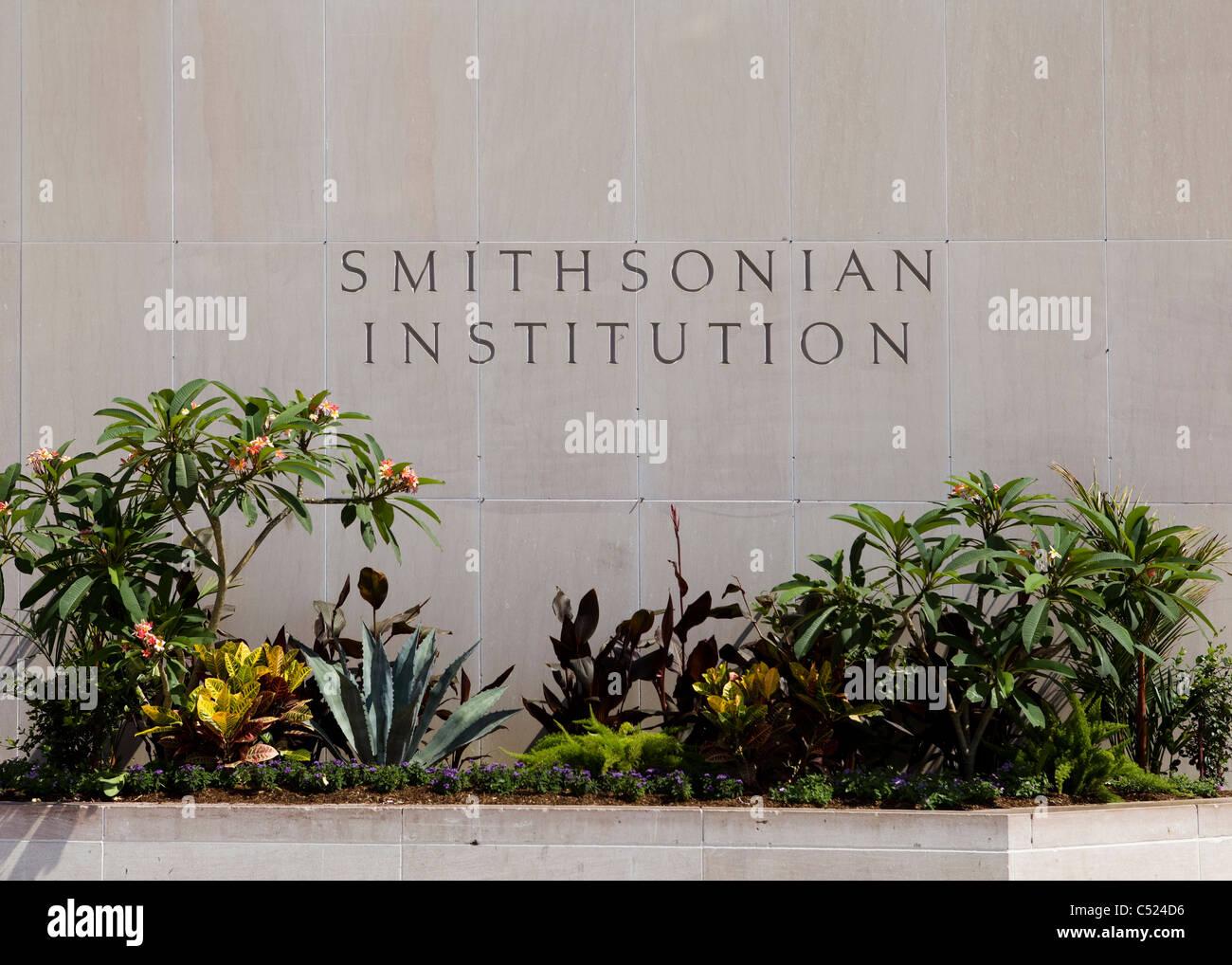 Smithsonian Institution - Washington, DC USA - Stock Image