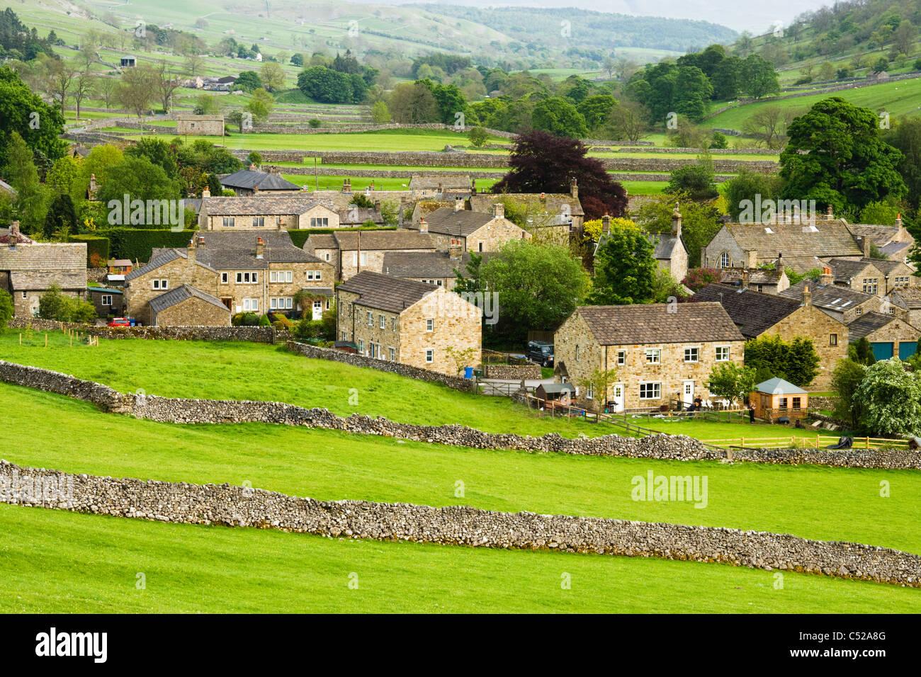 Kettlewell, Yorkshire Dales National Park, UK - Stock Image