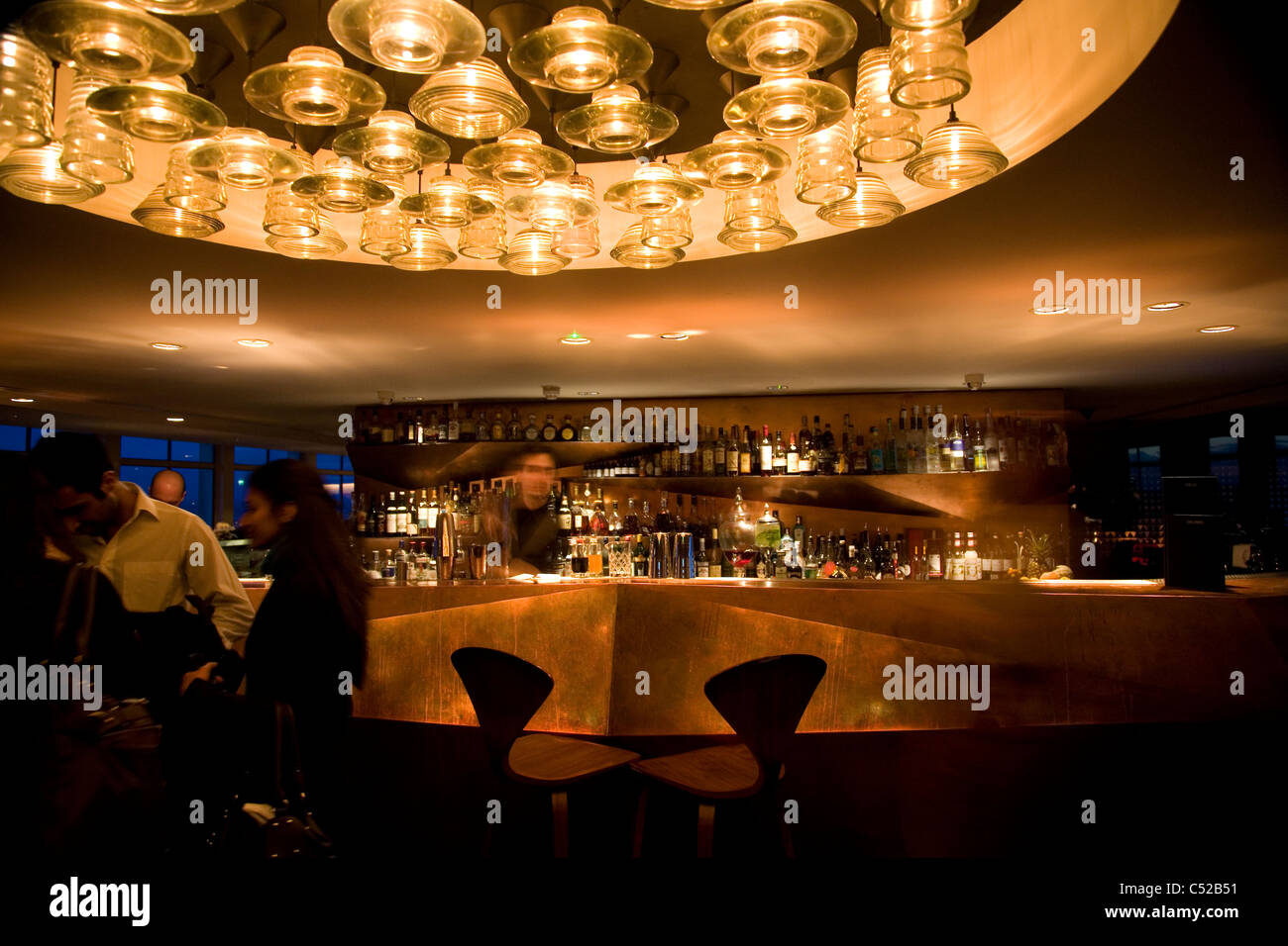 Paramount Bar and Restaurant i in London - Stock Image