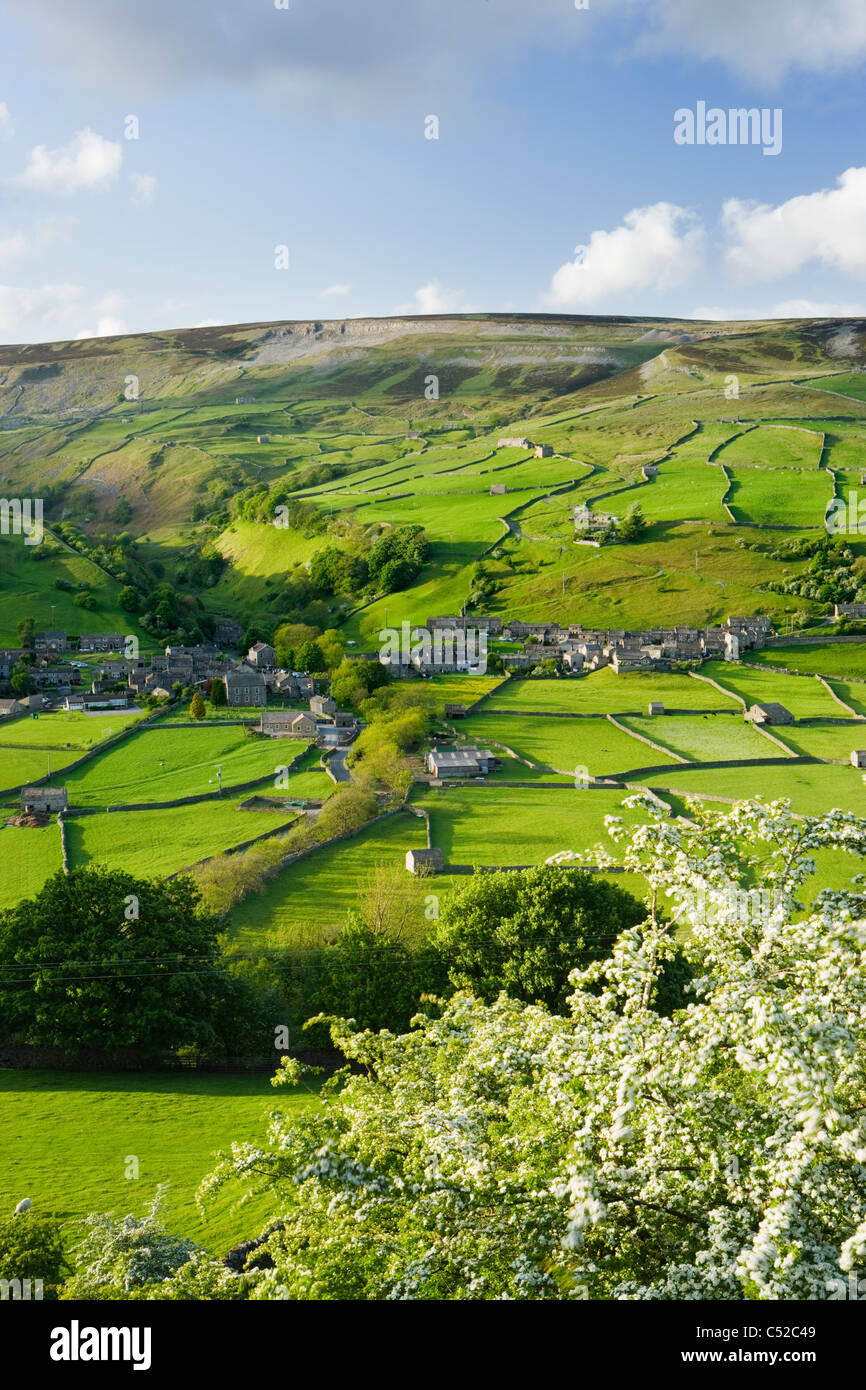 Gunnerside, Swaledale, Yorkshire Dales National Park, UK - Stock Image