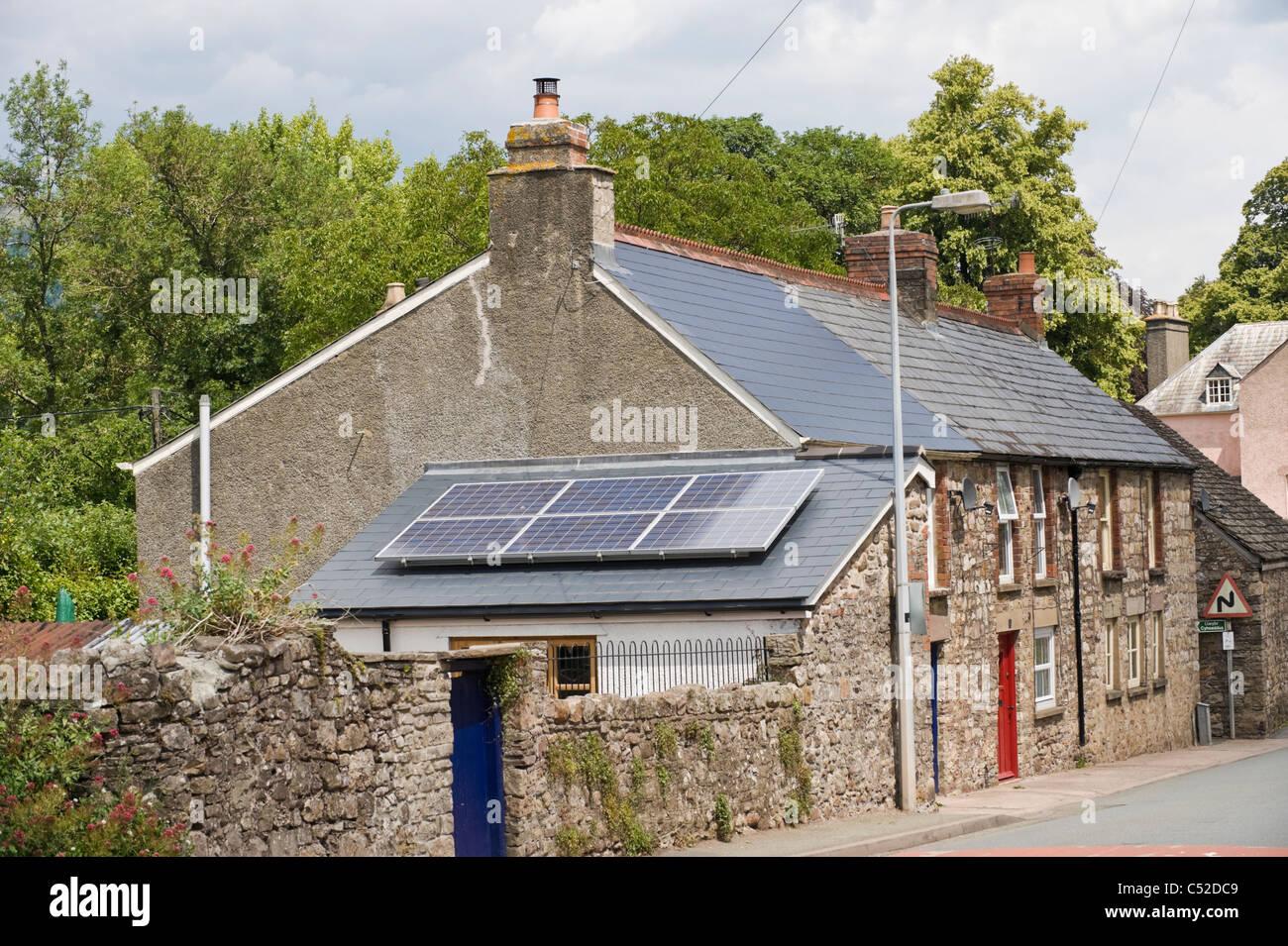 Solar Panels On Houses In Stock Photos Amp Solar Panels On