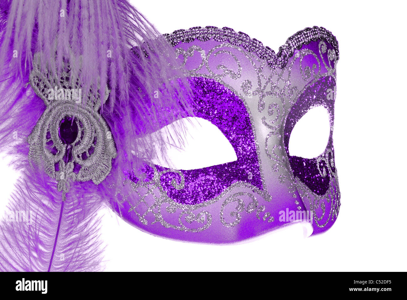 Maske freigestellt - mask isolated 10 - Stock Image