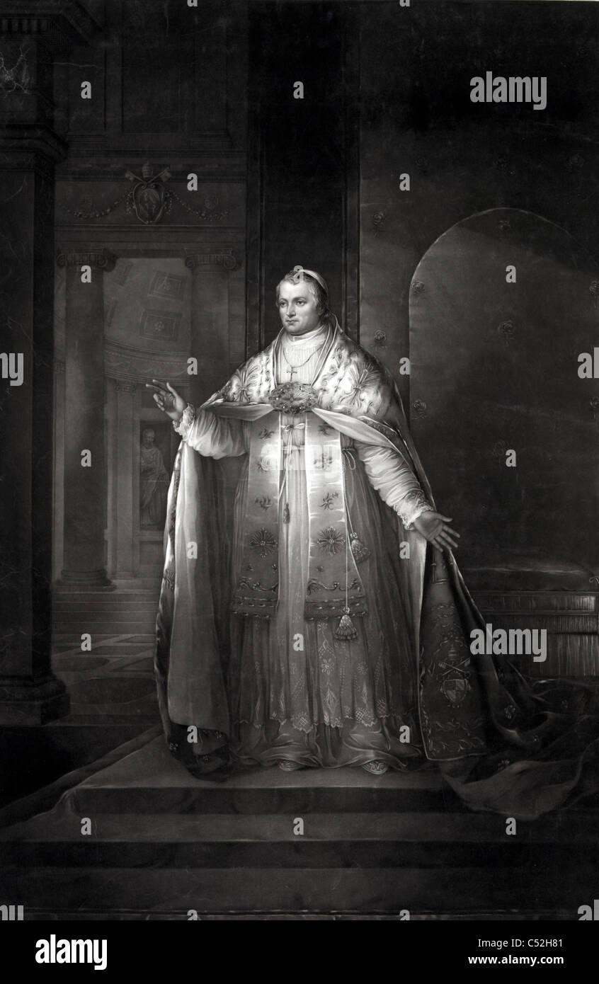 Pope Pius IX Stock Photo