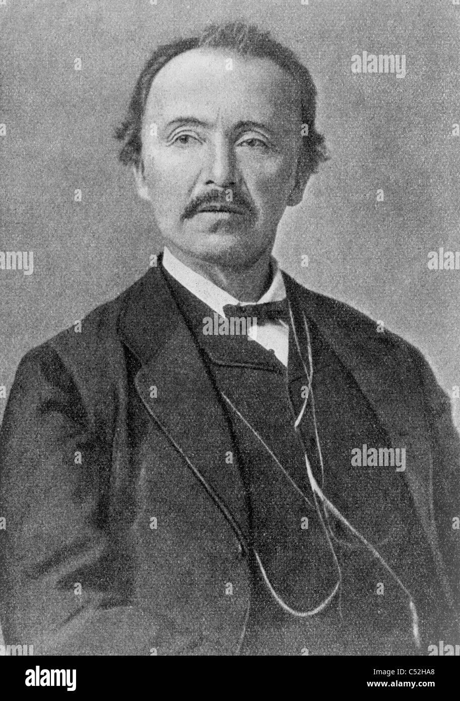 Heinrich Schliemann - Stock Image
