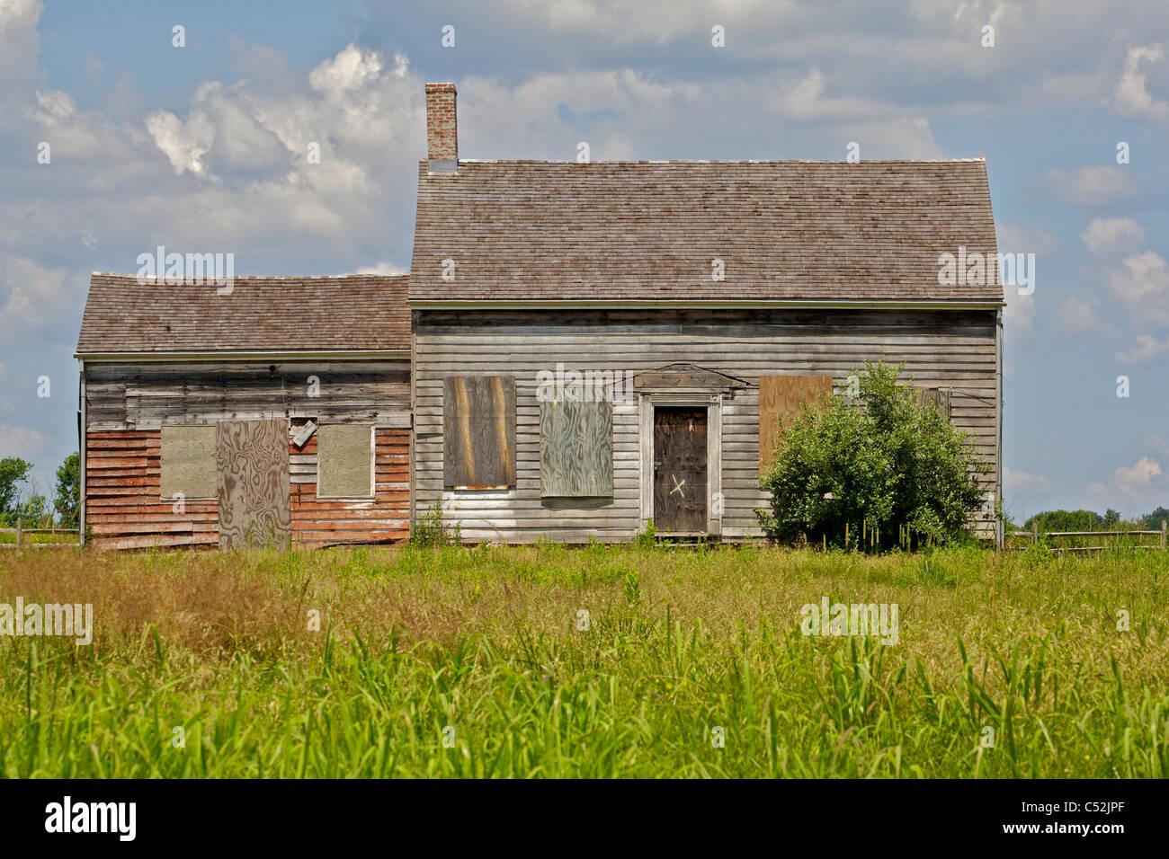 Abandon Farm Home - Stock Image