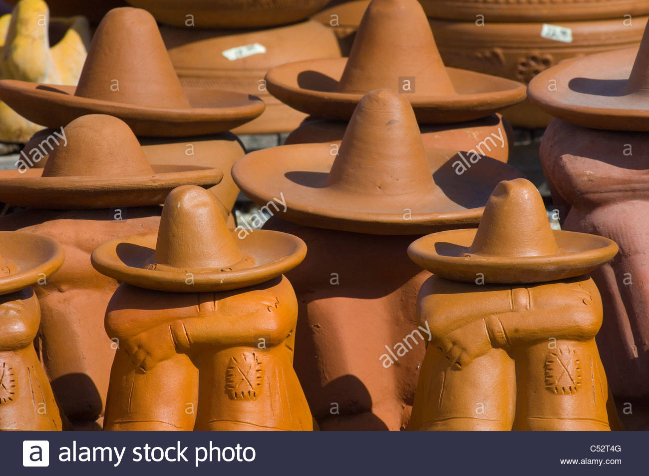 Imported Pottery - Stock Image