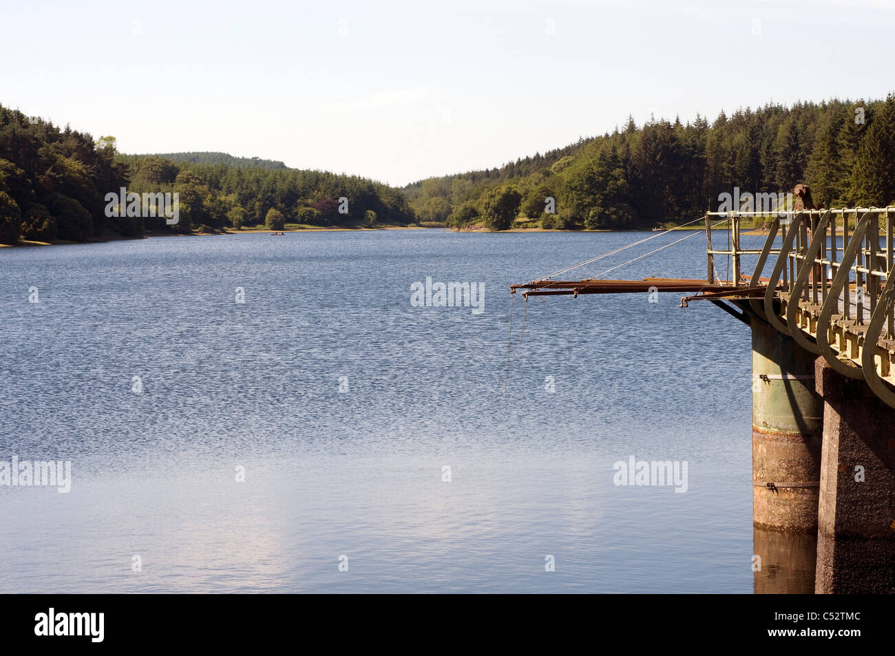 Kennick reservoir,Kennick is known as 'the jewel in the crown of Dartmoor fly fishing',Devon - Stock Image