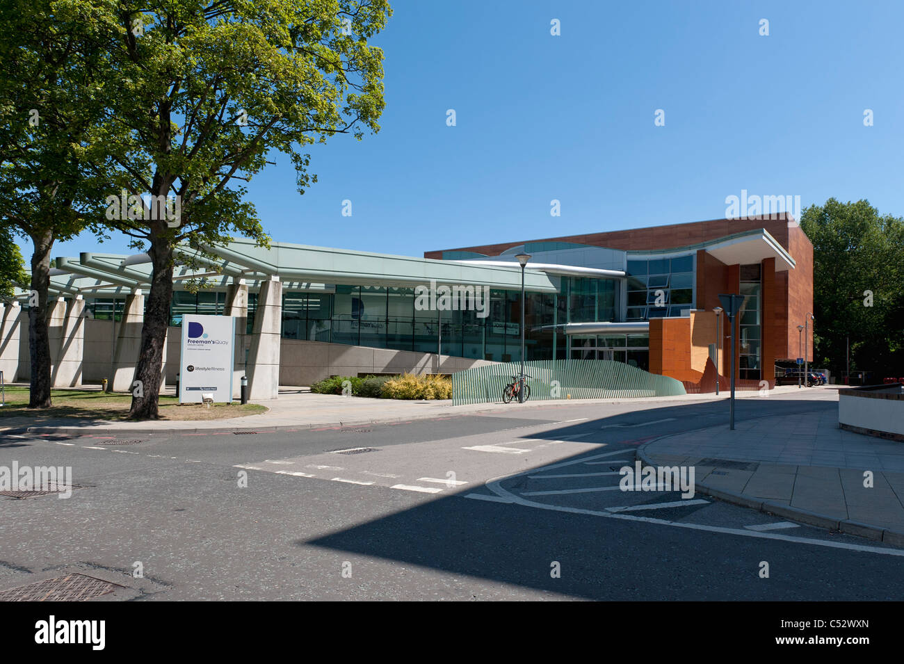 Freeman S Quay Leisure Centre Durham Stock Photo 37558269 Alamy
