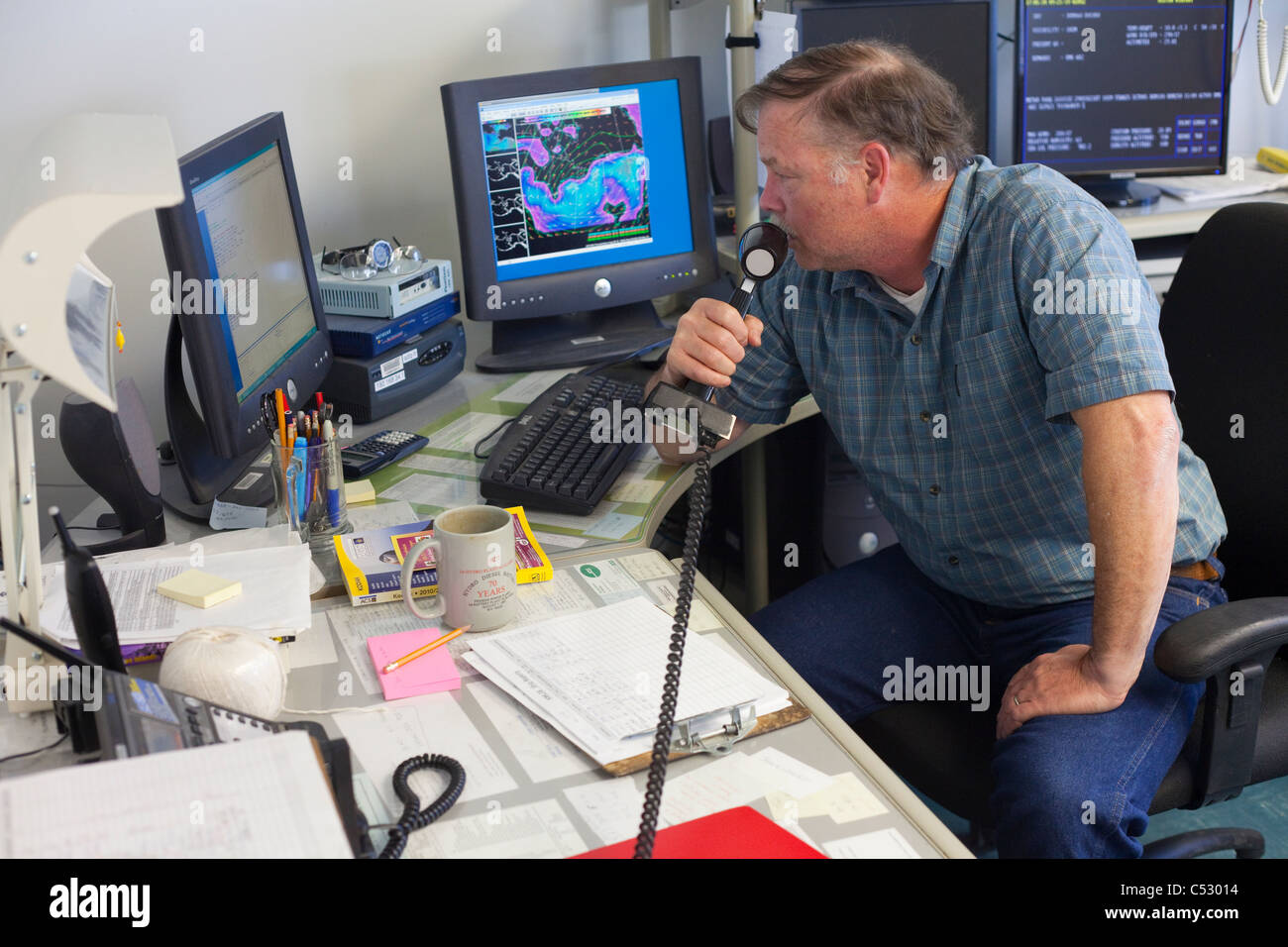 Port Meteorological Technician High Resolution Stock Photography and Images  - Alamy