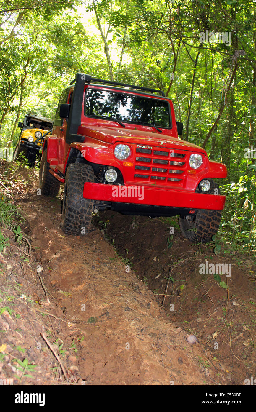 Offroad Brazilian car - Stock Image