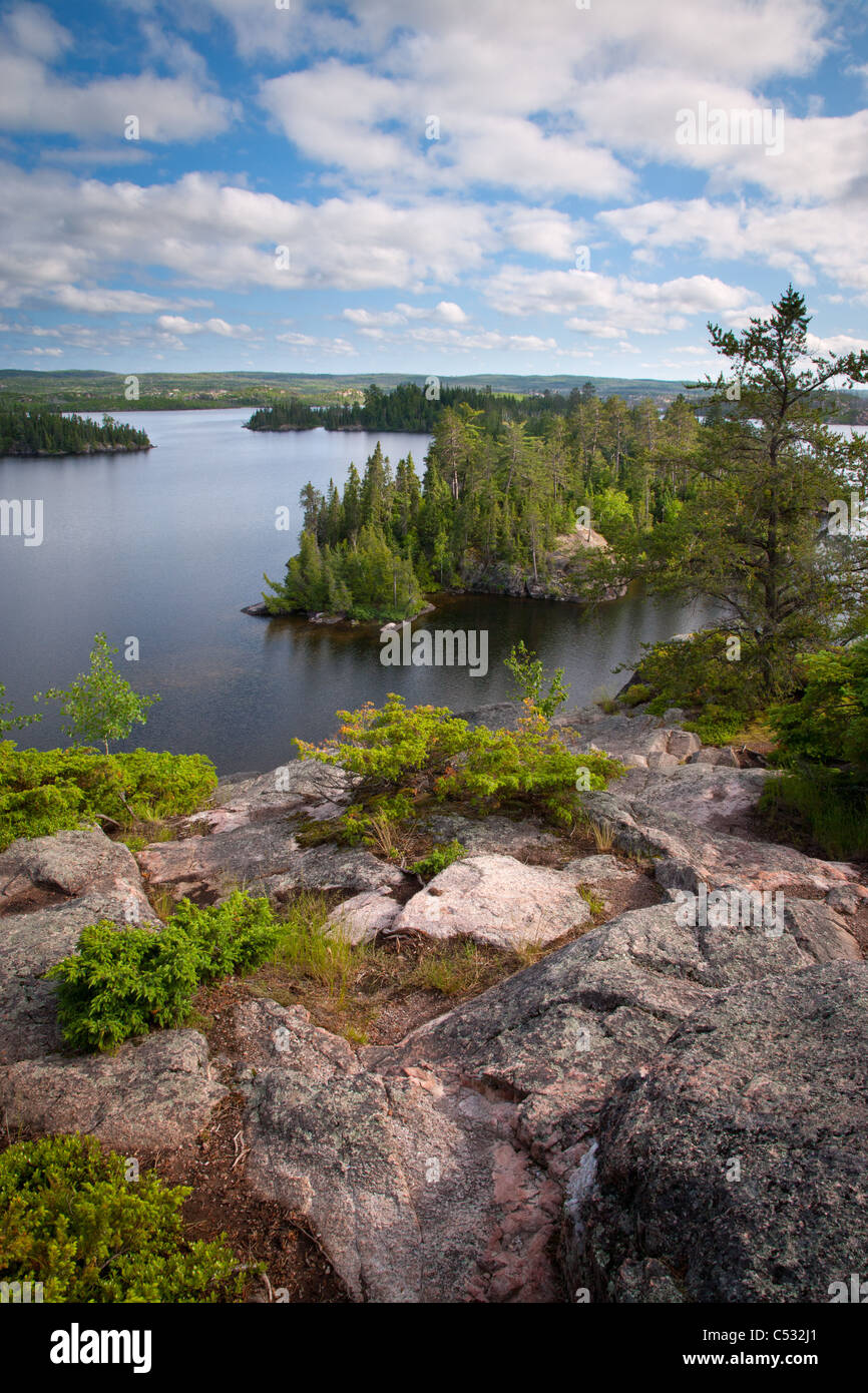 Sea Gull Lake, Boundary Waters Canoe Area Wilderness, Superior National Forest, Minnesota - Stock Image