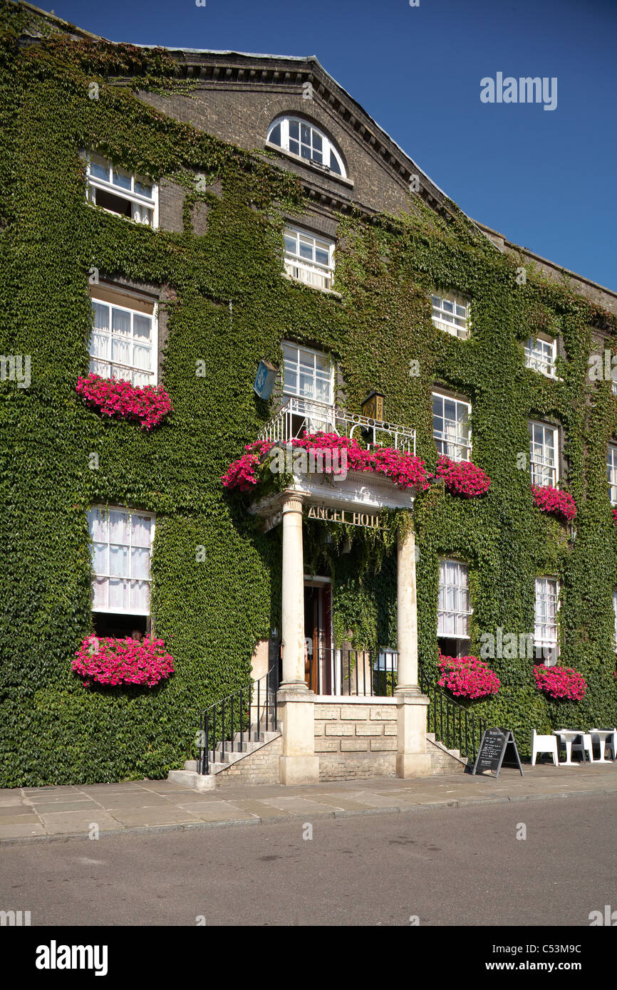 Great Britain England Bury St Edmunds Angel Hotel - Stock Image