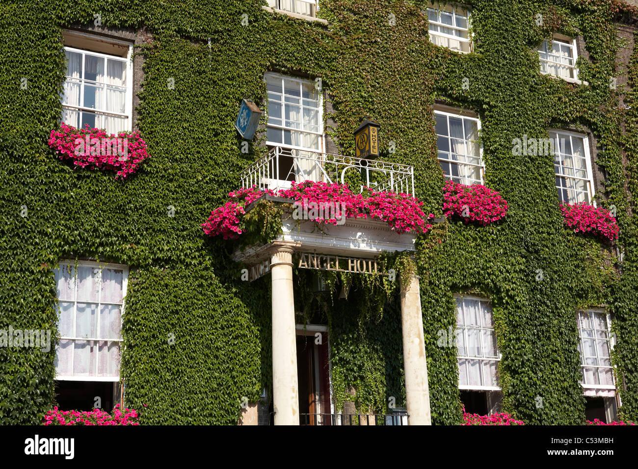 Great Britain England Bury St Edmunds Angel Hotel - Stock Image