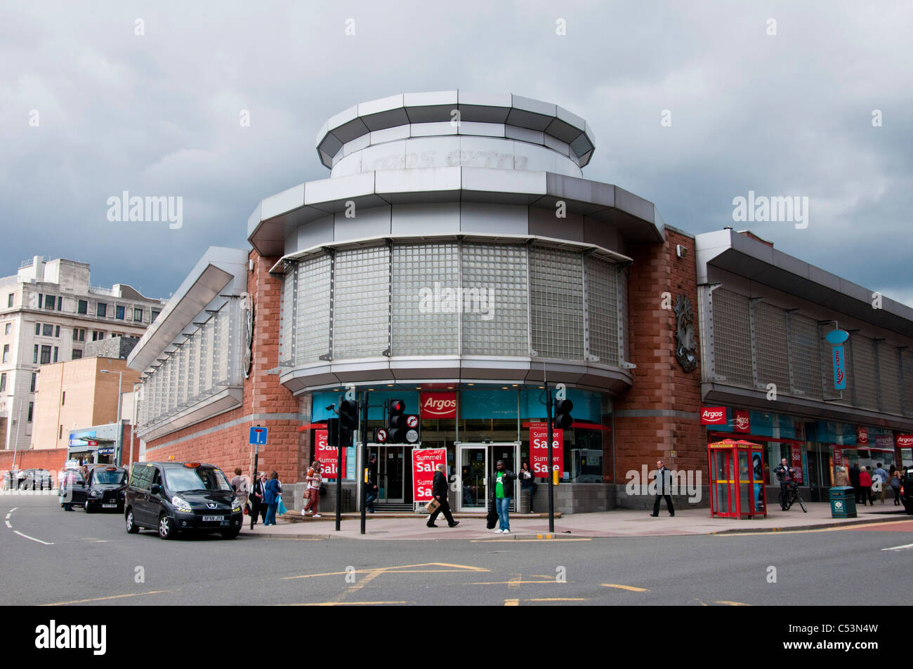 The Stockwell street branch of Argos in Glasgow city centre. - Stock Image