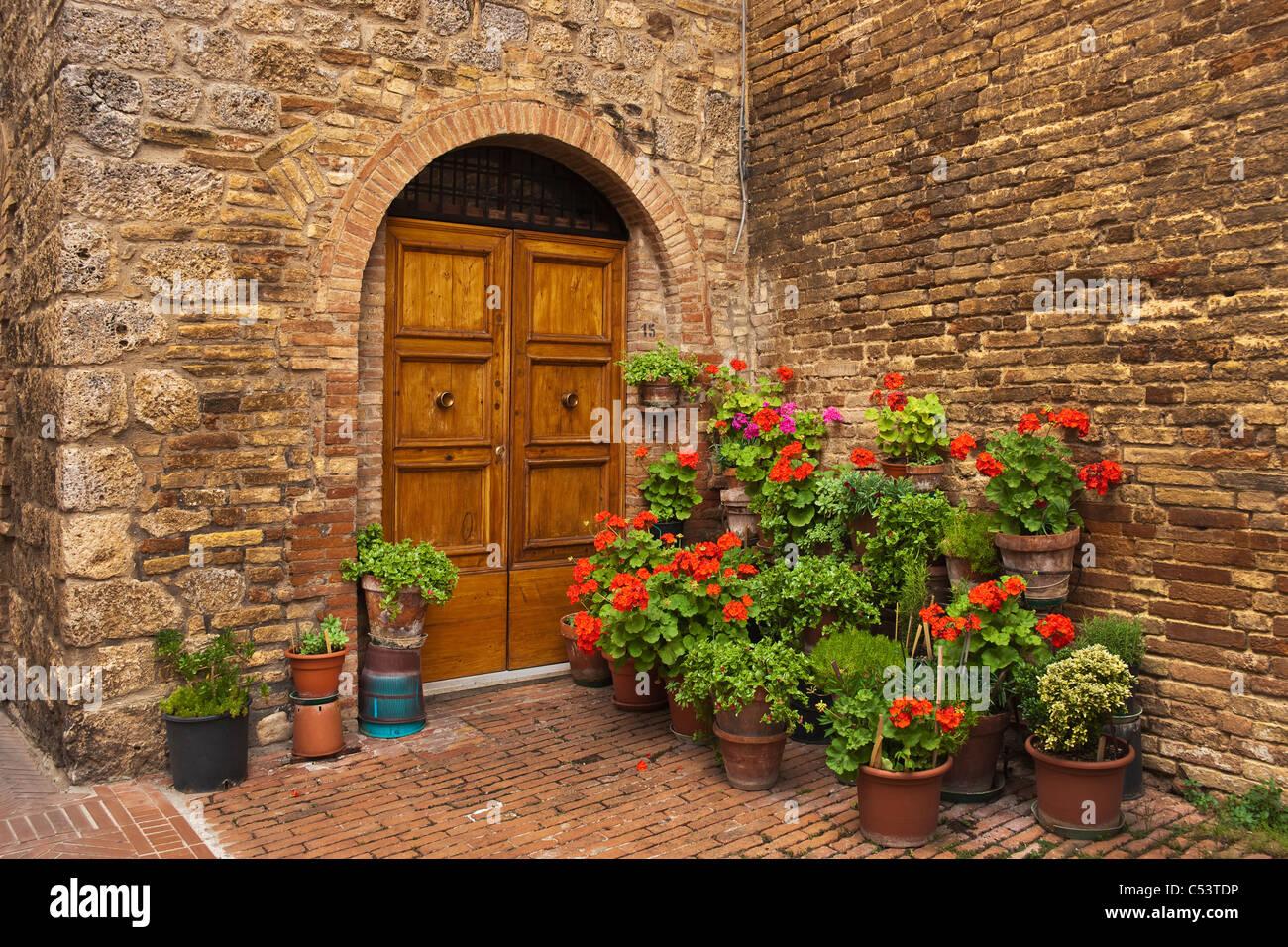 Toskana, Italien | Tuscany, Italy - Stock Image