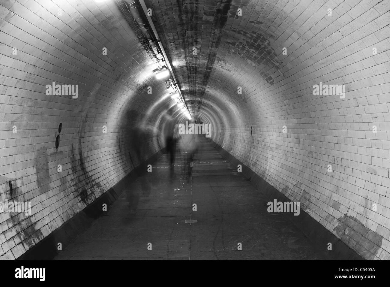 Pedestrian Subway - Stock Image