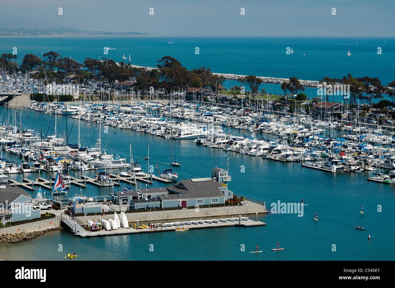 Dana Point, California Dana Point harbor and marina, California, USA (June 2011) - Stock Image