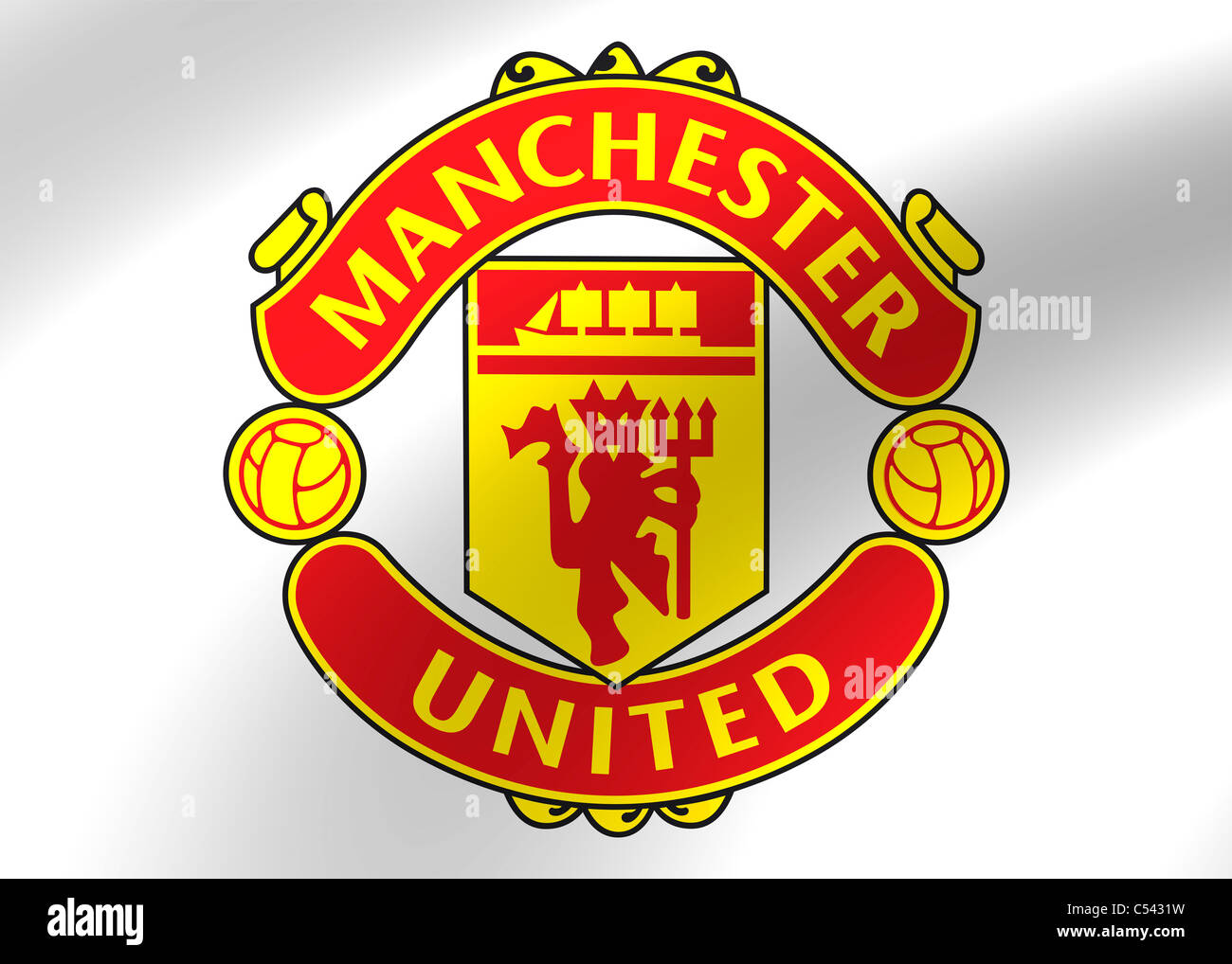 Manchester united flag logo symbol stock photos manchester united manchester united flag logo symbol icon stock image voltagebd Image collections