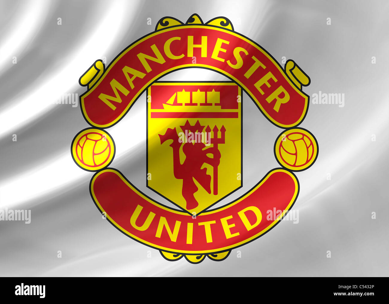 Manchester united flag logo symbol icon stock photo 37584254 alamy manchester united flag logo symbol icon voltagebd Image collections
