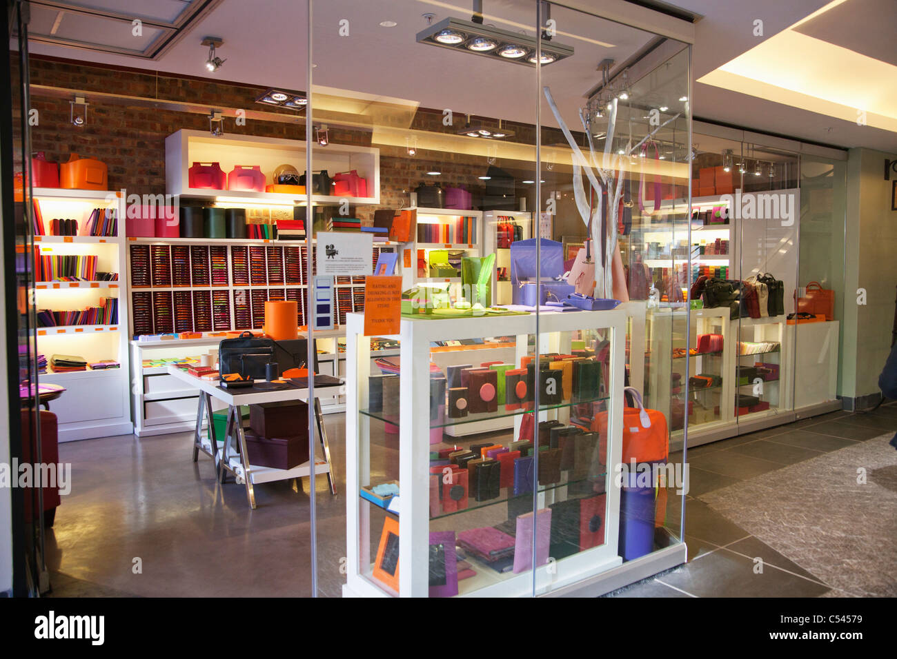 Interiors of a store - Stock Image