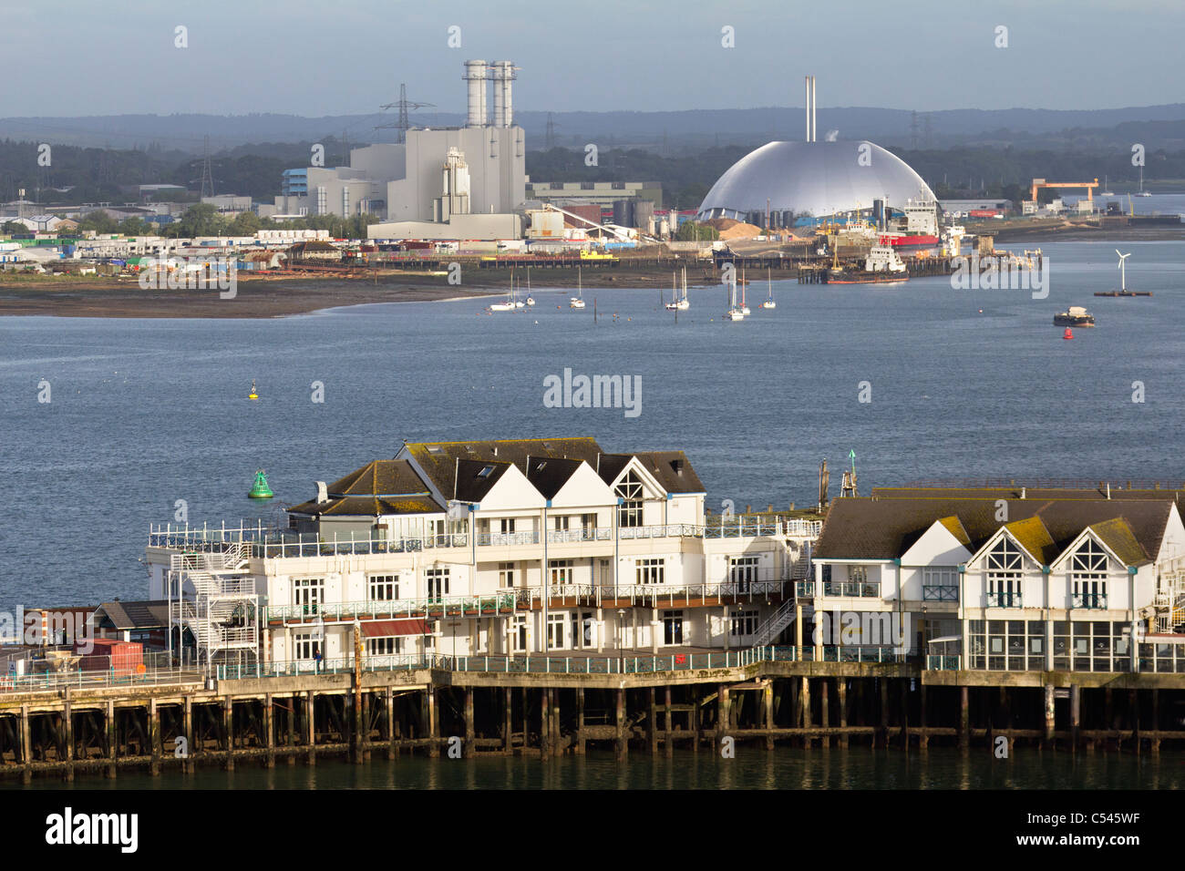 Old and new, Southampton England - Stock Image
