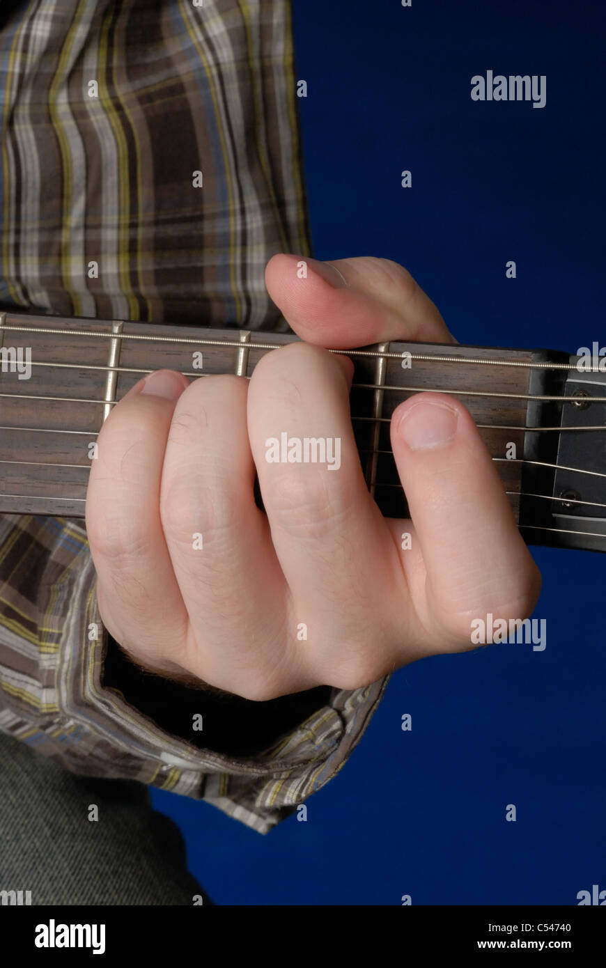 E Minor Guitar Chord Stock Photos E Minor Guitar Chord Stock