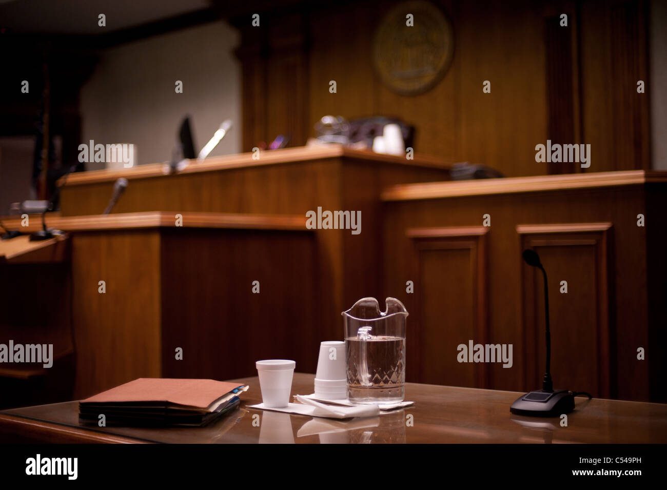 State Superior Court - Stock Image