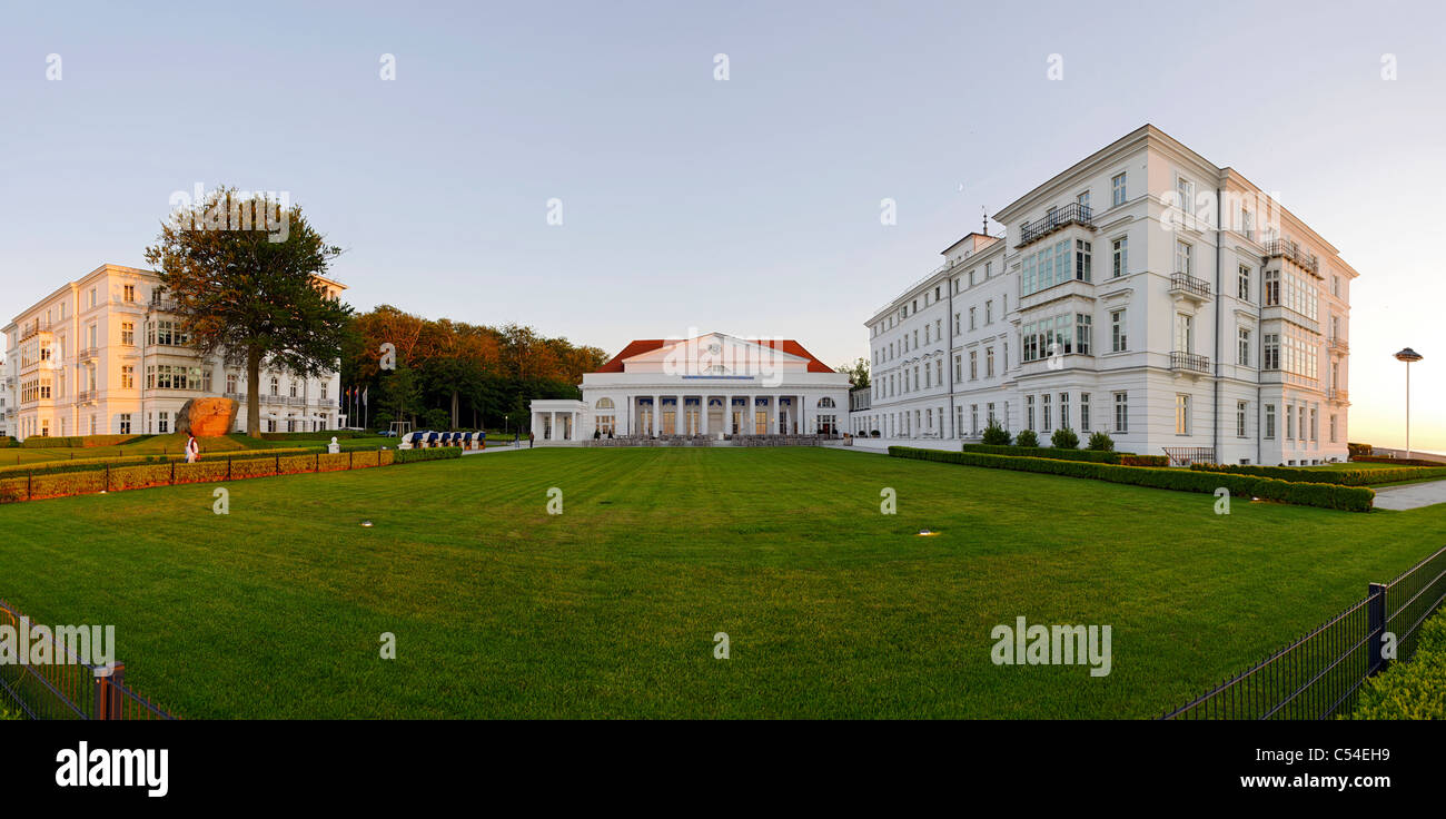 Kempinski Grand Hotel, seaside resort of Ostseeheilbad Heiligendamm, Mecklenburg-Western Pomerania, Germany, Europe - Stock Image