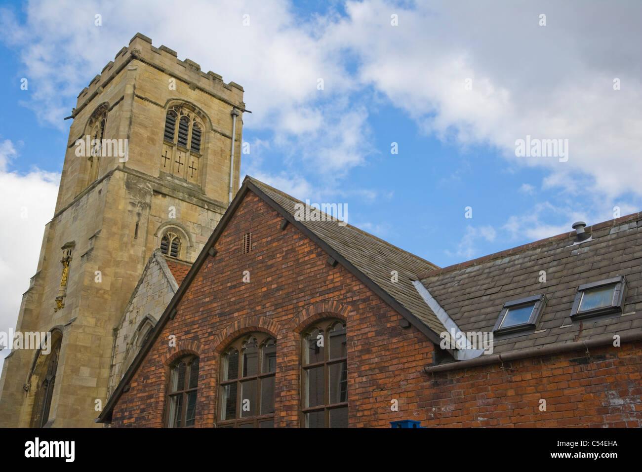 St Sampsons Centre For Over 60s Church Street York Yorkshire England Uk
