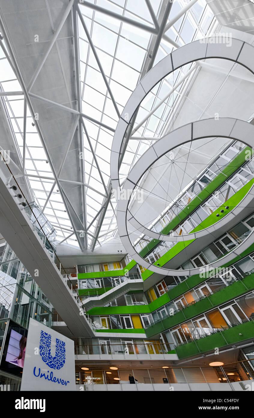 unilever office. Interior, Entrance Area, UNILEVER German Headquarters, Office Complex, World\u0027s Best Building In 2009, Hamburg, Germany Unilever