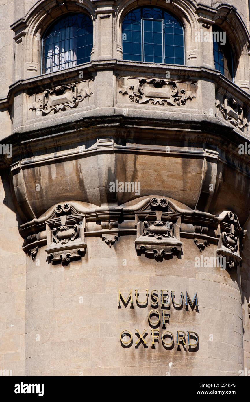 Museum of Oxford, St Aldates Street, Oxford, Oxfordshire, United Kingdom - Stock Image