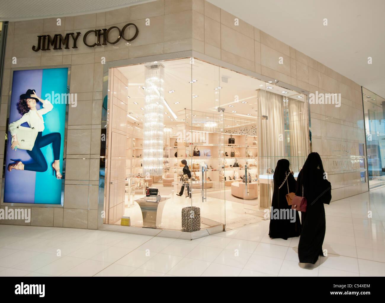 988b9e3a463 Jimmy Choo boutique in Dubai Mall in Dubai United Arab Emirates UAE ...