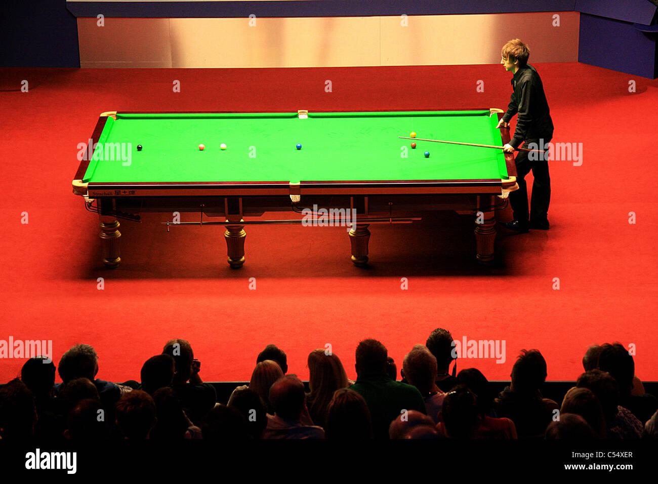 World Snooker Final - Stock Image