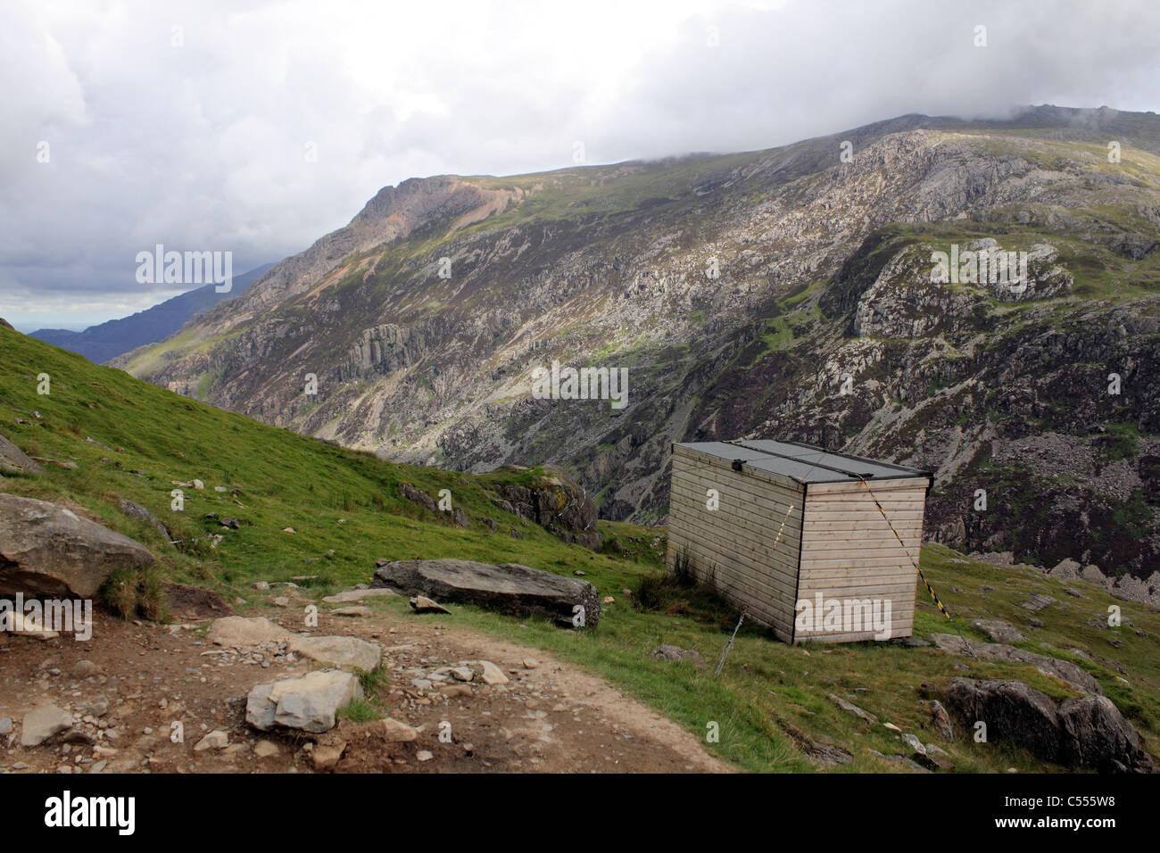 Snowdonia National Park Wales UK - Stock Image