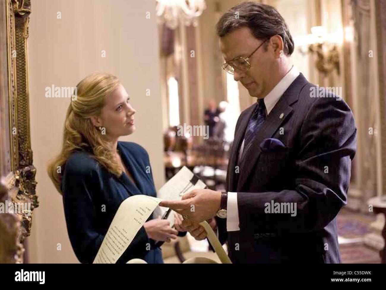 CHARLIE WILSON'S WAR  2007 Universal film with Tom Hanks and Amy Adams - Stock Image
