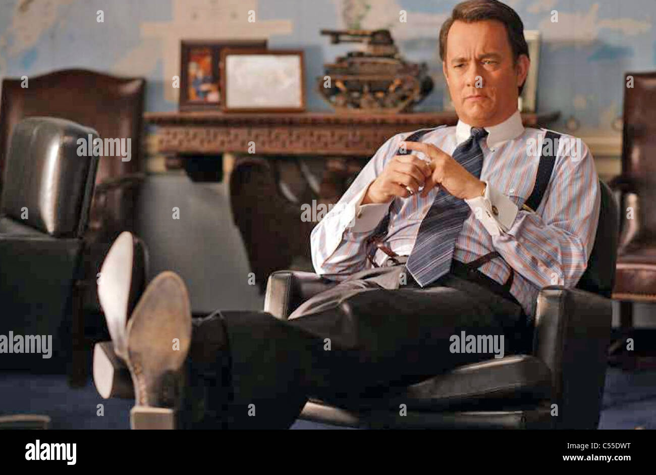 CHARLIE WILSON'S WAR 2007 Universal Pictures film with Tom Hanks - Stock Image