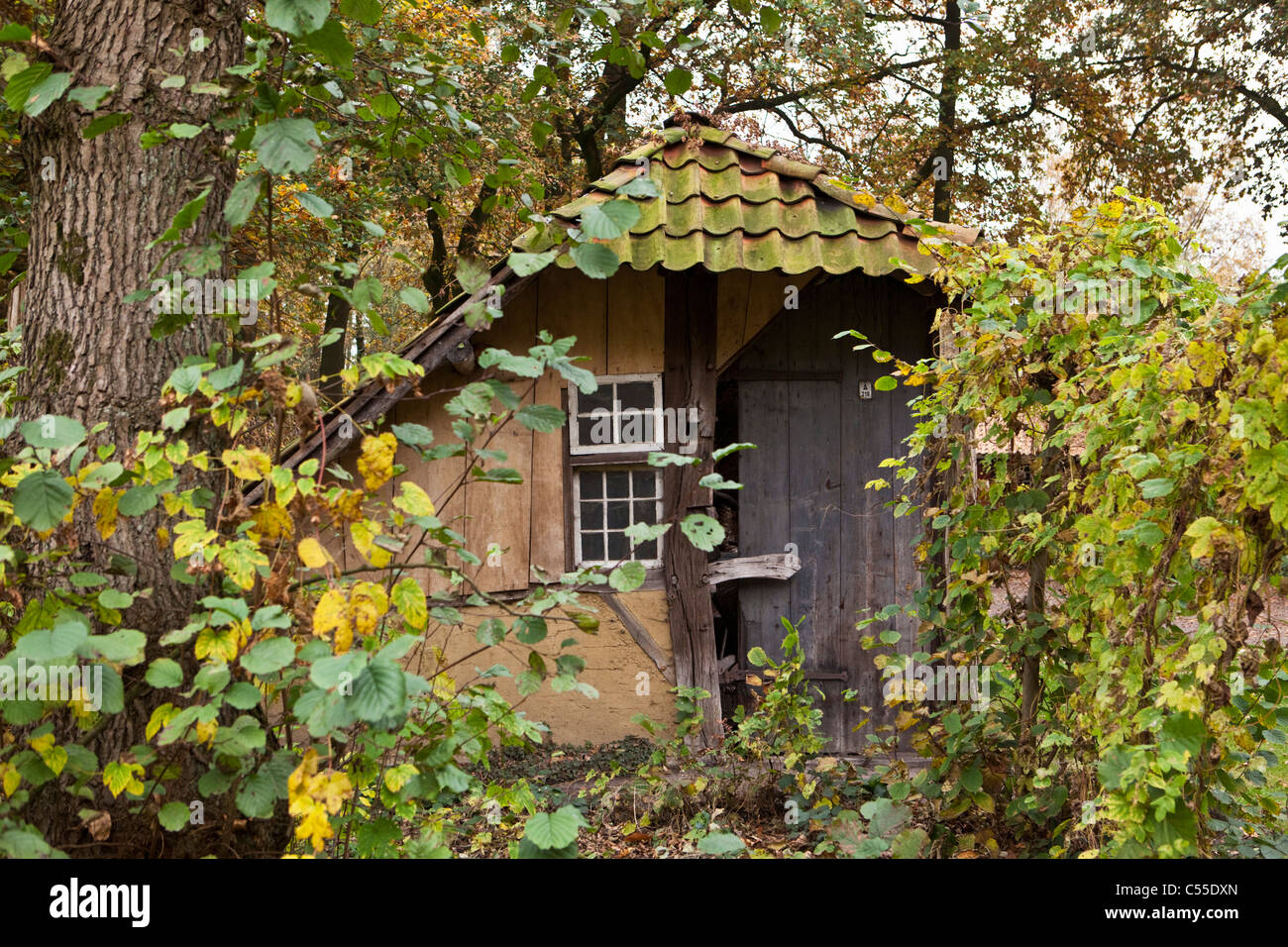 The Netherlands, Lievelde, Open air historical village, museum Erve Kots. - Stock Image